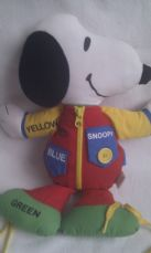 Adorable Rare Vintage Big 1968 My 'Activity Snoopy' Plush Toy